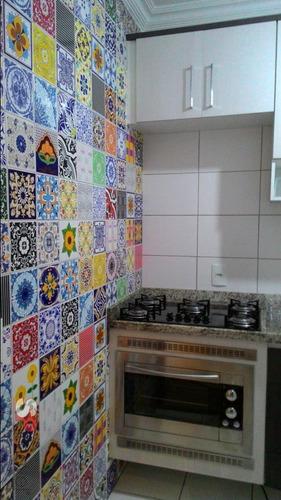 apartamento vila alpina 2 dormitórios 1 banheiros 1 vagas 49 m2 - 2741