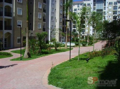 apartamento vila alpina 2 dormitórios 1 banheiros 1 vagas 54 m2 - 2269
