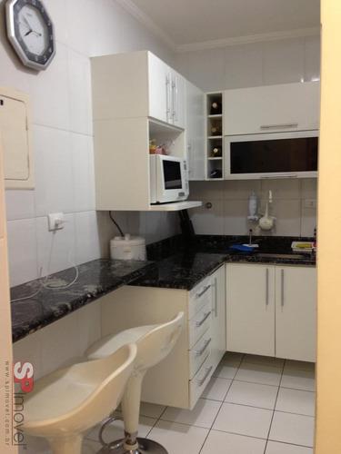 apartamento vila alpina 2 dormitórios 1 banheiros 1 vagas 58 m2 - 2468