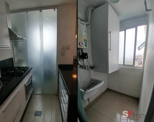 apartamento vila bela 2 dormitórios 1 banheiros 1 vagas 49 m2 - 2813