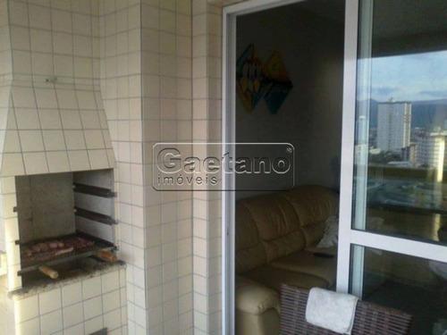 apartamento - vila caicara - ref: 17343 - v-17343