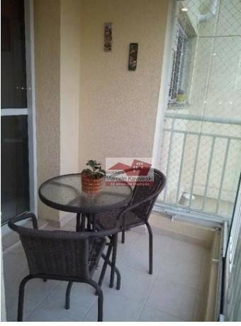 apartamento vila das mercês, 2 dormitórios, varanda gourmet - ap8946