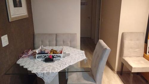 apartamento vila industrial 2 dormitórios 1 banheiros 1 vagas 47 m2 - 2278