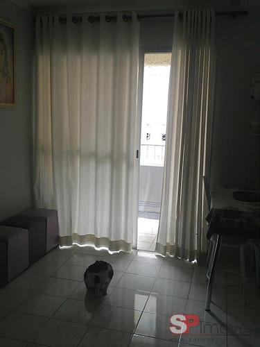 apartamento vila industrial 2 dormitórios 1 banheiros 1 vagas 48 m2 - 2499