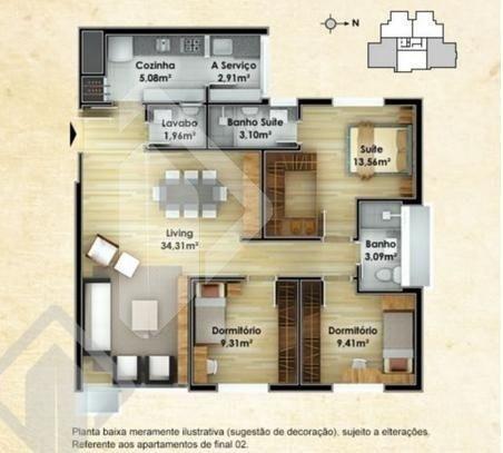 apartamento - vila ipiranga - ref: 187387 - v-187387