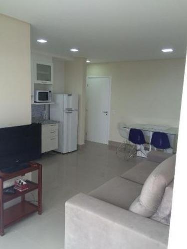 apartamento vila matias - santos - ref: 485228