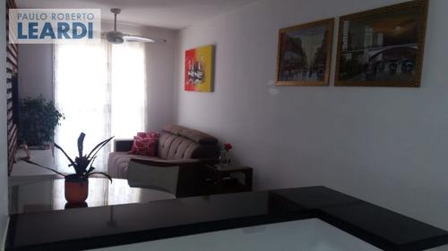 apartamento vila santa luzia - são bernardo do campo - ref: 555826