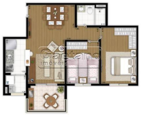 apartamento - vila sao judas tadeu - ref: 16983 - v-16983
