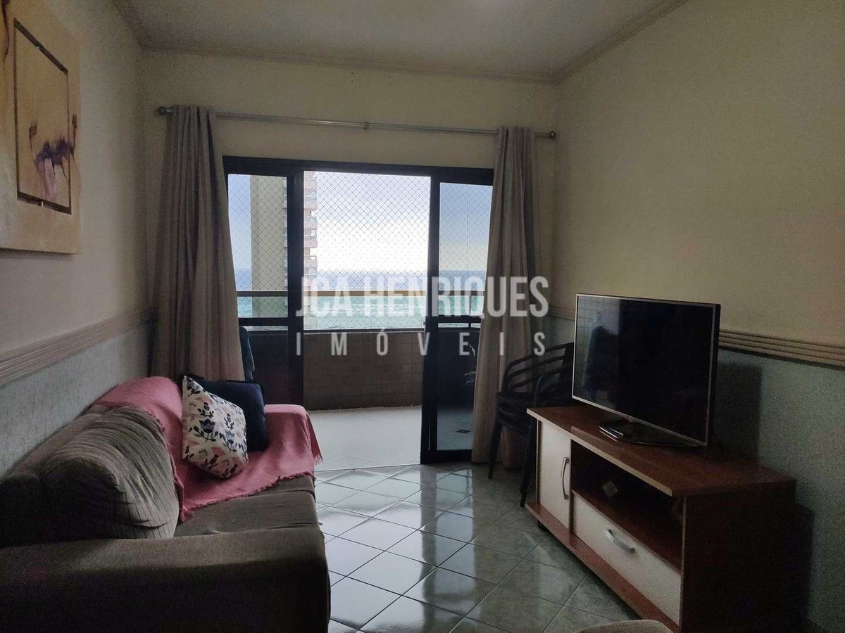 apartamento vista de frente mar , 3 dormitórios - v356