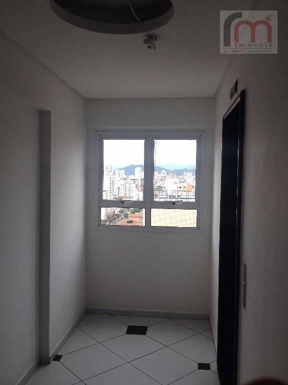 apartamento vista livre, à venda, aparecida, santos. - codigo: ap1915 - ap1915