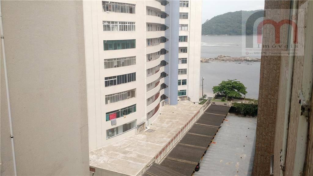 apartamento vista mar, 3 dorms com 1 suíte, 1 vaga - codigo: ap1608 - ap1608