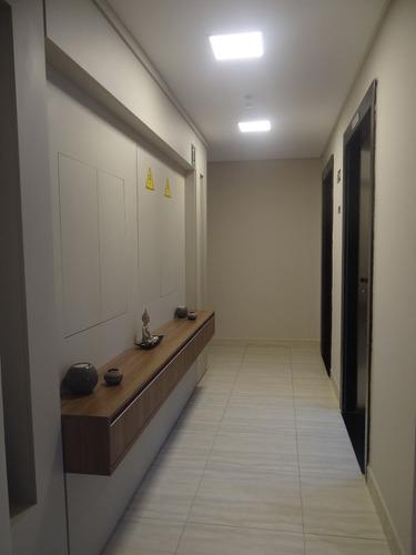 apartamento  vista mar mongaguá r$ 190 mil  c7291