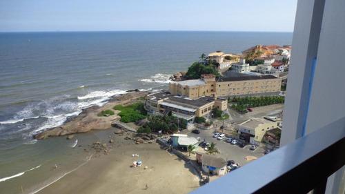 apartamento vista  panorâmica para o mar, ref. 0704 m h