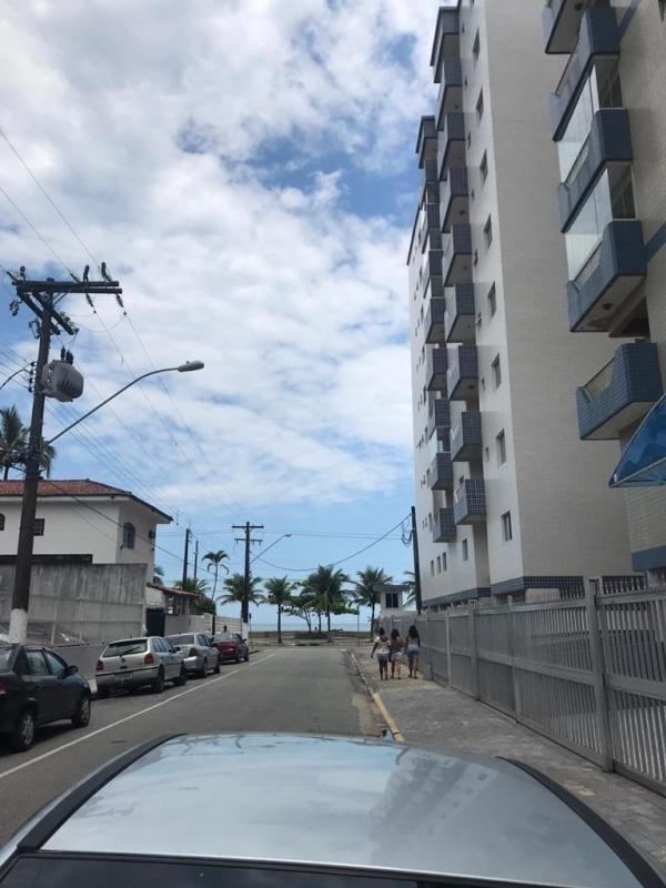 apartamento vista para o mar, b.mongaguá.ref. 1001 m h
