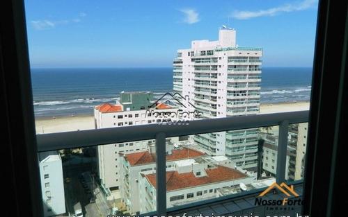 apartamento vista para o mar na aviação em praia grande