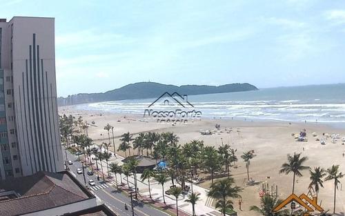 apartamento vista para o mar na guilhermina em praia grande