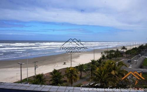apartamento vista para o mar no balneário maracanã em praia grande