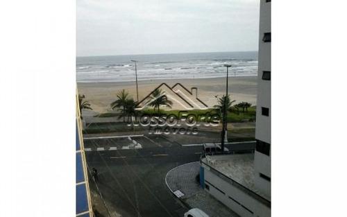 apartamento vista para o mar no caiçara em praia grande