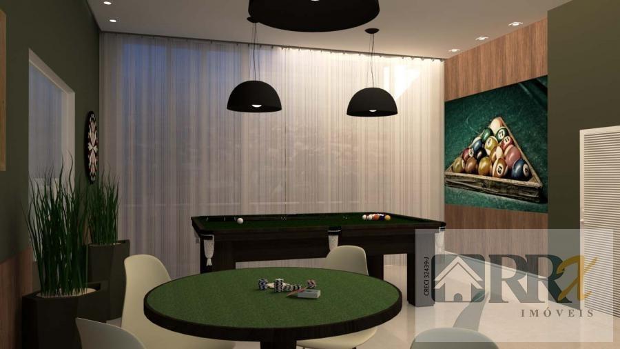 apartamento/novo para venda em mogi das cruzes, jundiapeba, 2 dormitórios, 1 banheiro, 1 vaga - 227_2-962992