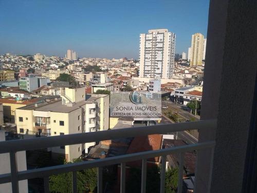 apartamentos 2 dormitórios 1 vaga barcelona em são caetano do sul - ap0040