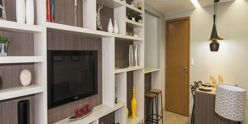 apartamentos 2 qts ,area de lazer com piscina,bairro colegio