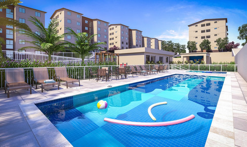 apartamentos 2 qts ,area de lazer com piscina,tomas coelho