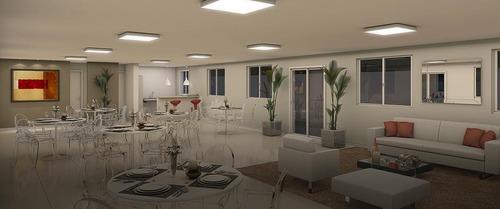 apartamentos 2 quartos campo grande completo