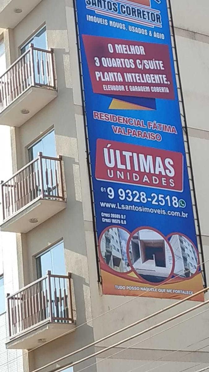 apartamentos 3 quartos c/suite elevador e garagem coberta