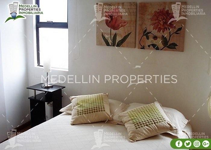apartamentos amoblados economicos en envigado cód: 4149