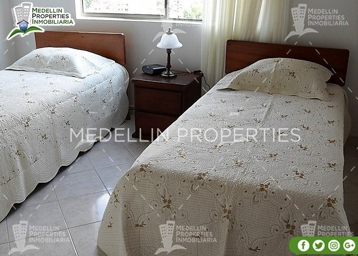 apartamentos amoblados economicos en envigado cód: 4159
