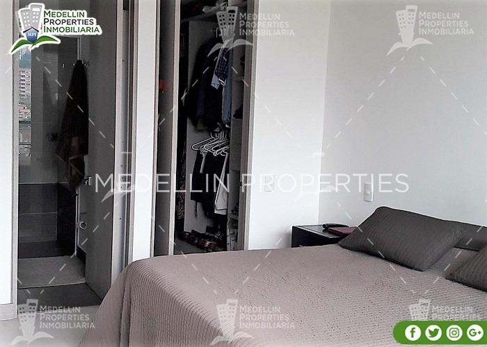 apartamentos amoblados economicos en envigado cód: 4617