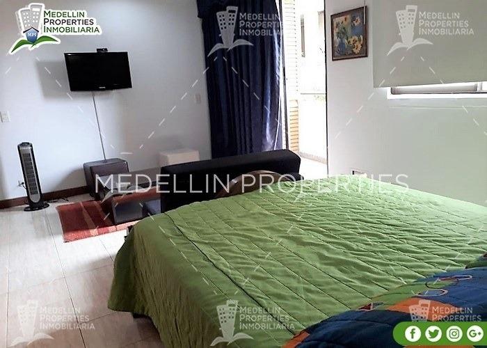 apartamentos amoblados economicos en medellin cód: 4013