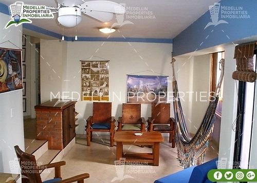 apartamentos amoblados economicos en medellín cód: 4115