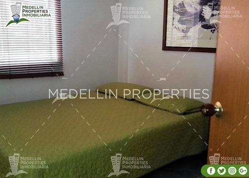 apartamentos amoblados economicos en medellín cód: 4215