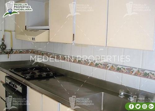 apartamentos amoblados economicos en medellín cód: 4244