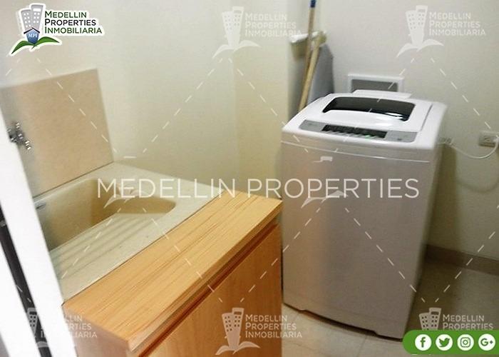 apartamentos amoblados economicos en medellin cód: 4264