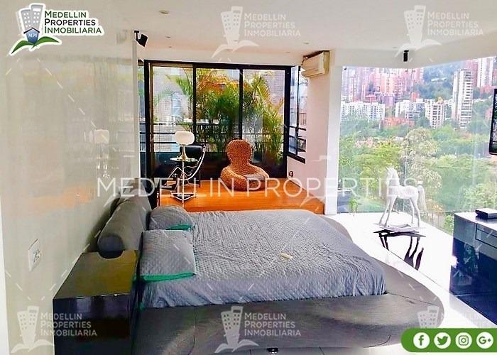 apartamentos amoblados en alquiler en medellín cód.: 4929