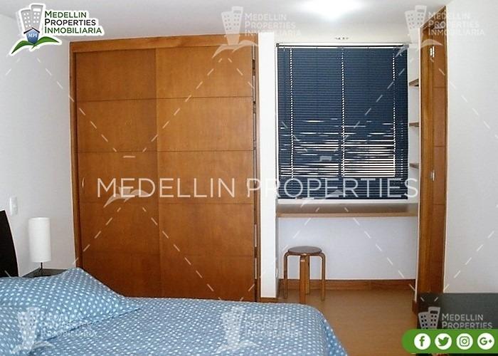 apartamentos amoblados por dias en envigado cód: 4113