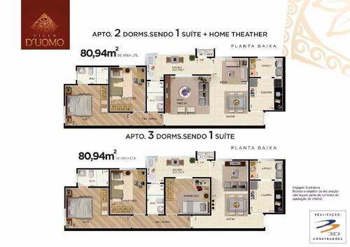 apartamentos de 80.94m² 3 dormi 1 suíte 2 vagas proxi usp rp