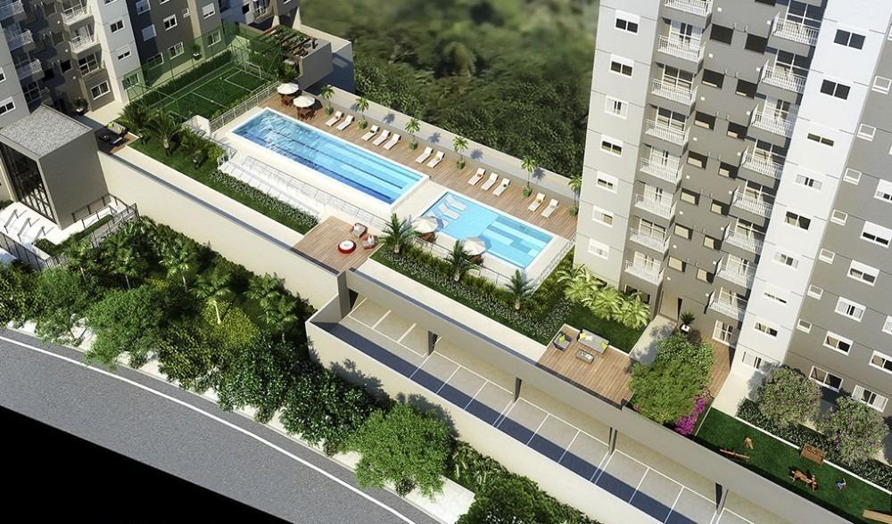 apartamentos em osasco pronto - 49m com varanda