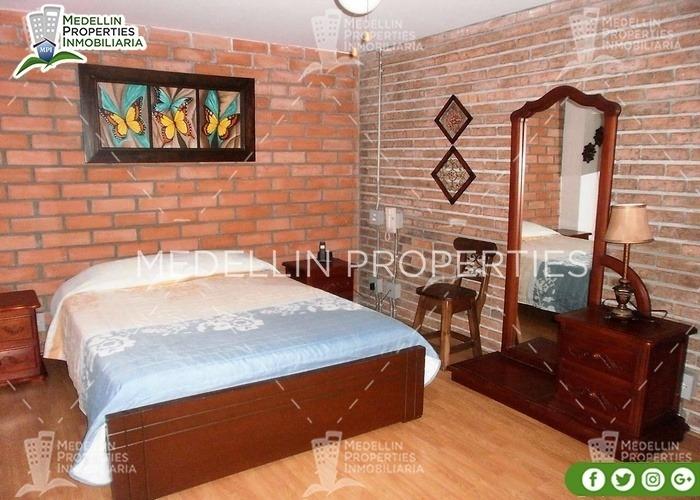 apartamentos en arriendo amoblados en envigado cód: 4099