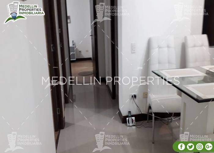 apartamentos en arriendo amoblados en envigado cód: 4789