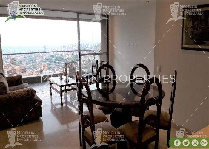 apartamentos en arriendo amoblados en envigado cod: 5084