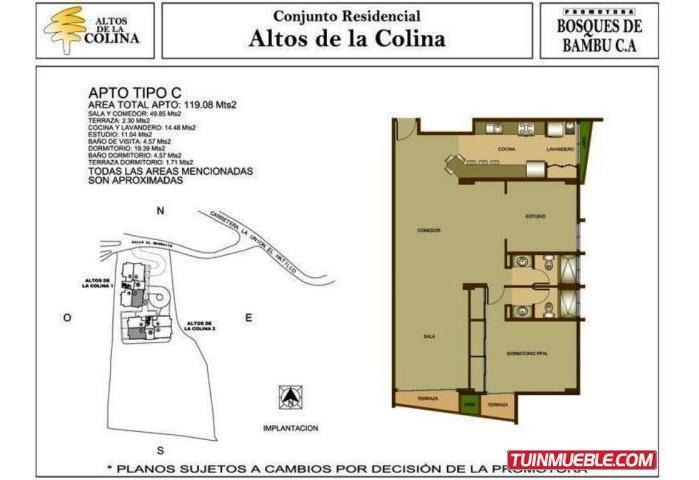 apartamentos en venta en la union el hatillo - mls #18-13223