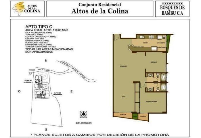 apartamentos en venta en la union el hatillo - mls #18-13225