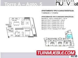 apartamentos en venta inmueblemiranda 17-6010