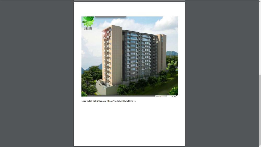 apartamentos en venta proyecto la reserva piedra pintada iba