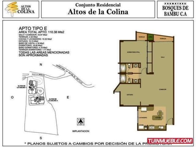 apartamentos en venta rtp---mls #15-12100---04166053270