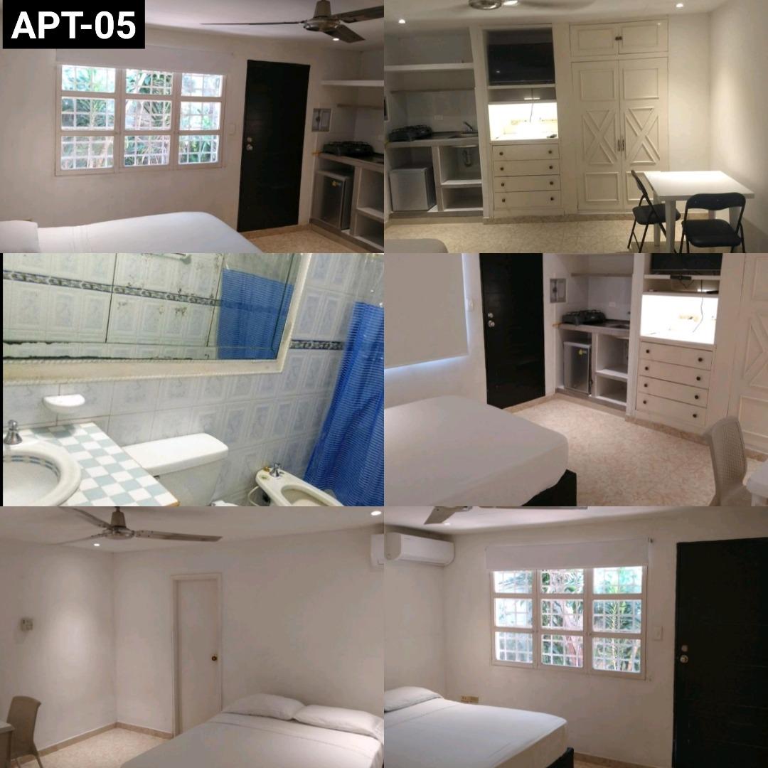 apartamentos estudios tipo suites / todo incluído en servici
