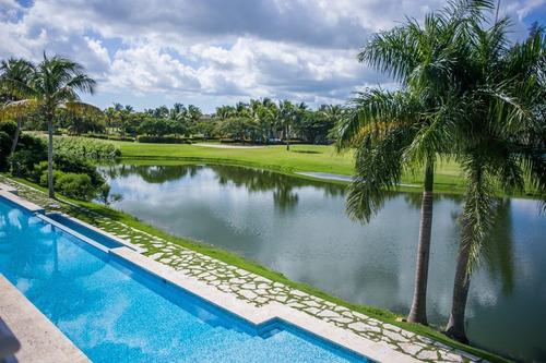 apartamentos frente al lago y campo de golf - punta cana